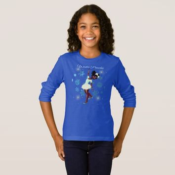 Winter Princess: Girls' Basic Long Sleeve T-Shirt