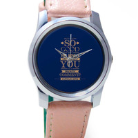 Can I Interest you with a Sarcastic Comment Wrist Watch