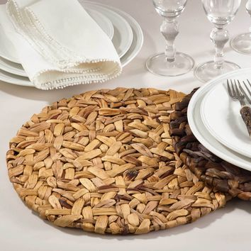 Round Seagrass Placemat | Set of 4