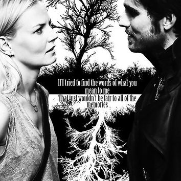 'Captain Swan Black and White' Poster by colorfulmoniker