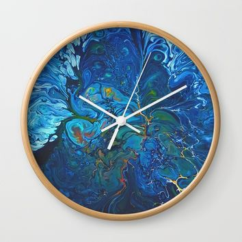 Organic.3 Wall Clock by DuckyB