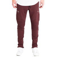 Crysp Champ Sweatpants In Maroon