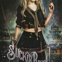 Sucker Punch Baby Doll Emily Browning Movie Poster 22x34