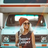 The Parks Happier Camper Muscle Tank