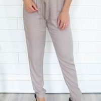 Lonely Hearts Pants - Taupe