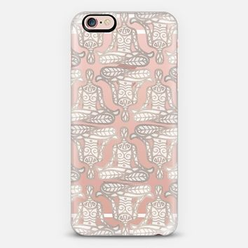 lotus pose transparent iPhone 6s case by Sharon Turner | Casetify
