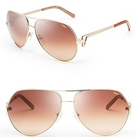 Chloé Arrow Aviator Sunglasses
