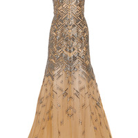 Lela Rose - Beaded tulle gown
