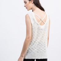 Knitted Sweater Tank