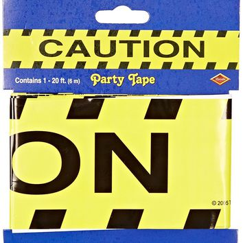 Caution Party Tape Party Accessory (1 count) (1/Pkg)