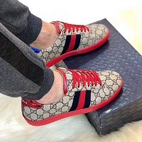 shosouvenir Gucci Woman Men Fashion Casual Sneakers Sport Shoes