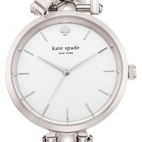 Women's kate spade new york 'holland' round watch, 34mm - Silver