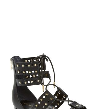 Ivanka Trump 'Cathy' Studded Lace-Up Sandal (Women) | Nordstrom