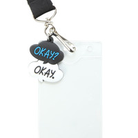 The Fault In Our Stars Quote Lanyard