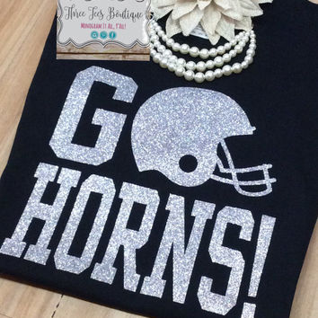 Football Shirts. Football Mom Shirt. Football T-Shirt. Football Girlfriend Shirt. Monogram T-Shirt. Monogrammed Gifts. Football. Glitter