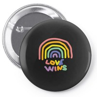 love wins Pin-back button