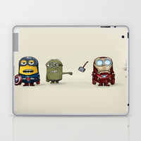 Minion Avengers Laptop & iPad Skin by CforCel