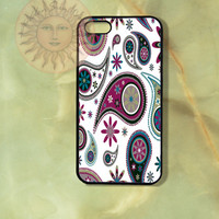Paisleys iPhone 5, 5s, 5c, 4s, 4, ipod 4, 5, Samsung GS3, GS4 case-Silicone Rubber or Hard Plastic Case, Phone cover