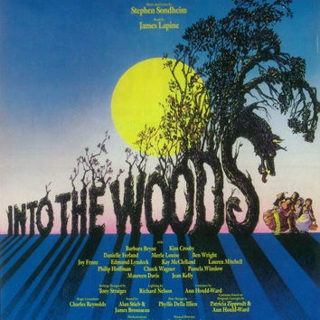 Into the Woods 14x22 Broadway Show Poster (1987)