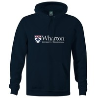 Penn Wharton Hooded Sweatshirt (Navy)