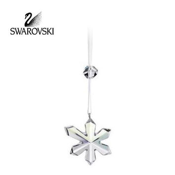 Swarovski Crystal Christmas Figurine Ornament ICE FLOWER ORNAMENT #945006
