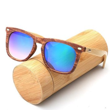 Sun Kiss Bamboo Wooden Sunglasses