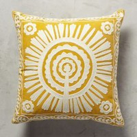 Full Sun Pillow by Anthropologie
