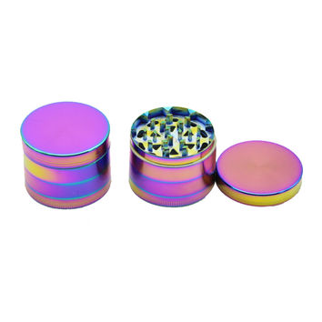 4 Layers Herb rainbow Grinder for Smoking Tobacco