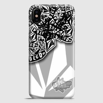 Volcom Inc Apparel And Clothing Stickerbomb iPhone X Case