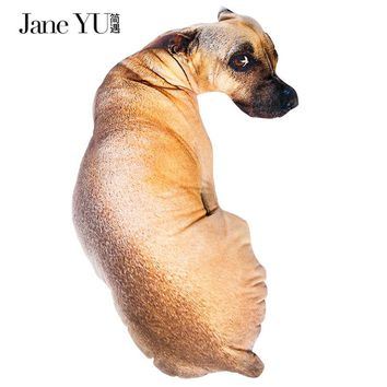 JaneYU 3D Cute Animal Pillow