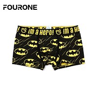 Men's Superhero Boxer Brief Trunks from Pink Hero
