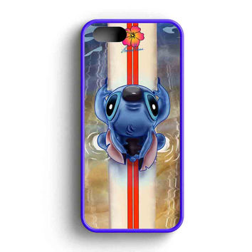 Lilo And Stitch Waiting For The Perfect Wave Disney iPhone 5 Case iPhone 5s Case iPhone 5c Case