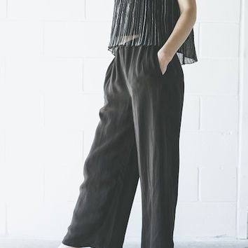 Objects Without Meaning - Lounge Pant in Black