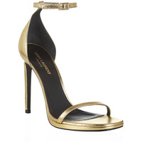 Saint Laurent Metallic Jane Sandal