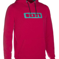 ION Hoody Logo 2016 - crimson red