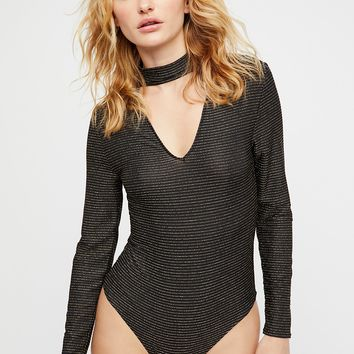Cassie Striped Bodysuit