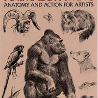 Animal Drawing: Anatomy and Action for Artists (Dover Anatomy for Artists)