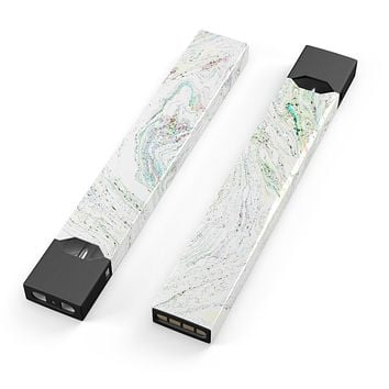 Skin Decal Kit for the Pax JUUL - Dotted Mixtured Textured Marble