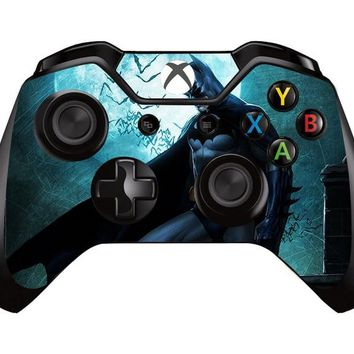 Batman Sticker Vinyl Protective Decal Skin Cover For Microsoft XBOX ONE Gamepad Skin For Xbox one Controller Joystick