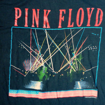 PINK FLOYD vintage tshirt 1987 Live Concert Tour tee A Momentary Lapse of Reason