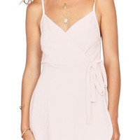 Amuse Society Keep It Breezy Surplice Romper | Nordstrom