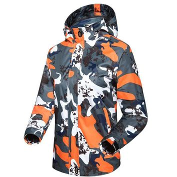 Trendy Women's Basic Military Camouflage Jacket New Spring Autumn Windproof Waterproof Breathable Thin Hooded Coat Female Jacket 4XL AT_94_13