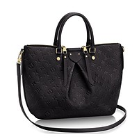 Tagre™ Authentic Louis Vuitton Mazarine MM Bag Handbag Article:M50643 Noir Made in France