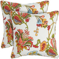 "apartment AH 20"" Pillows, Set of 2, Piccadilly Garden"
