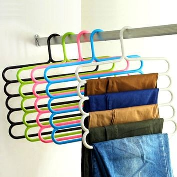 Pants Hangers Holders For Trousers & Towels