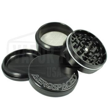 Aerospaced 4 piece Aluminum Grinder (63mm)