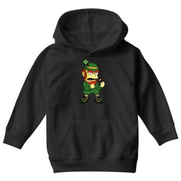 happy saint patrick day simpson 2 Youth Hoodie