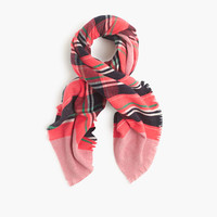 J.Crew Womens Fireside Plaid Scarf
