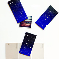 Constellation Orion Painting Magnet in Acrylic Glow in the Dark