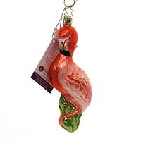 Inge Glas FLAMINGO . Glass Ornament Pink Tropical 10144S018